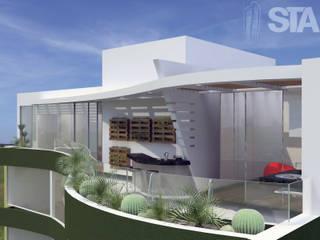 : Terrazas de estilo  por Soluciones Técnicas y de Arquitectura