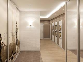 Corredores, halls e escadas modernos por Дизайн Студия 33 Moderno