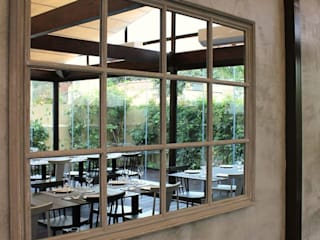 Restaurante Rabo d´Peixe Espaços de restauração mediterrânicos por a+arquitectura Mediterrânico