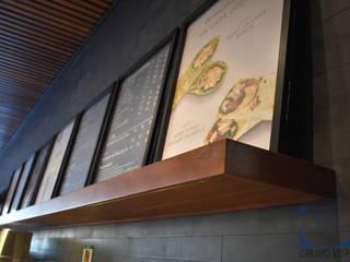 Espaços gastronômicos modernos por Grupo Visnav Moderno