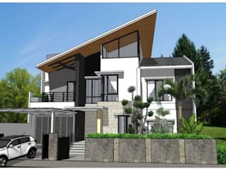 Vivienda: Casas campestres de estilo  por Arq. Nury Tafur Garzon