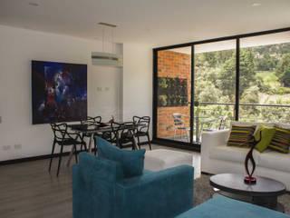 Vivienda: Salas de estilo minimalista por Arq. Nury Tafur Garzon