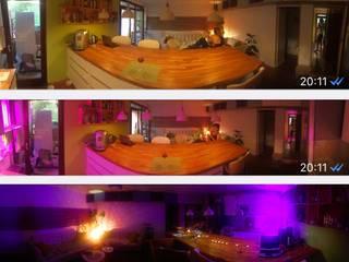 Appartement complet comprennant sdb 3 chambres laverie vestibule, dressing et rangements: Salon de style  par Daphnis Fournier