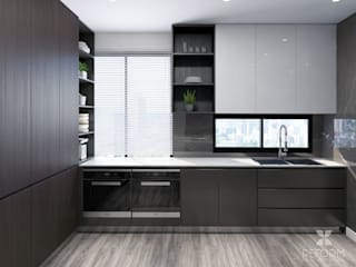 Reform Architects Kitchen units Brown