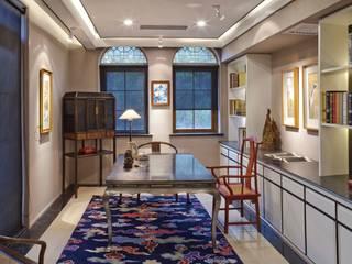 大真室內裝修設計有限公司 ห้องทำงาน/อ่านหนังสือ ไม้จริง