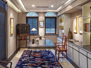 大真室內裝修設計有限公司 Studio in stile asiatico Legno massello