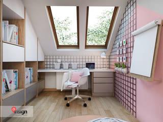 InSign Pracownia Projektowa Karolina Wójcik Phòng trẻ em phong cách hiện đại