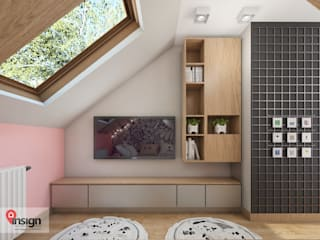 Nursery/kid's room by InSign Pracownia Projektowa Karolina Wójcik