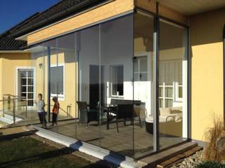 Terrassenverglasung - Glasschiebetüren Schmidinger Wintergärten, Fenster & Verglasungen Moderner Wintergarten Glas