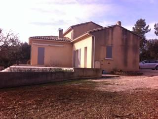 RENOVATION ET EXTENSION CONTEMPORAINE MAISON Maisons modernes par CGDESIGN Moderne