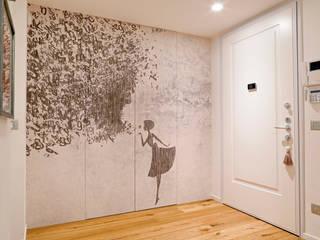 perfect fit Ingresso, Corridoio & Scale in stile minimalista di studio ferlazzo natoli Minimalista