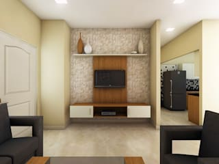 SHOBA DREAM ACRES - BANGALORE:   by Vsquare Interiordesigns Pvt Ltd