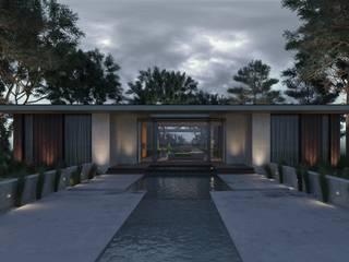 Марокко + минимализм: Бассейн в . Автор – U-Style design studio