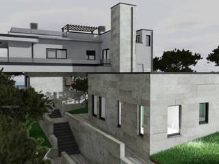 Modern Habitation - Algarve Casas modernas por Optimize Caprice LDA - Atelier de Arquitectura Moderno