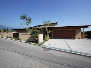 藤松建築設計室 Modern Garage and Shed