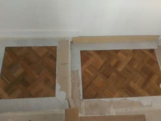 Soloparquet Srl Classic style corridor, hallway and stairs
