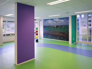 Modern gym by Jan Detz Interieurarchitect Modern