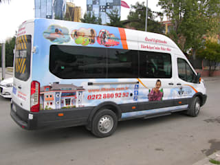 Ford Transit Araç Giydirme Modern Okullar Boran Reklam Modern