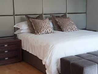 Morningside Residence CKW Lifestyle Associates PTY Ltd Eclectic style bedroom