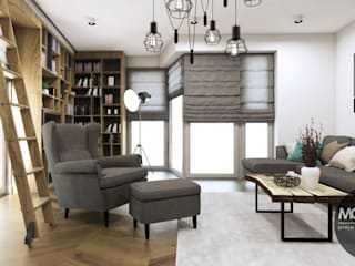 Living room by MONOstudio,