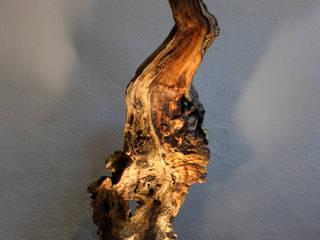 odywood – Cave Kütük Lambader 002 - Odywood:  tarz