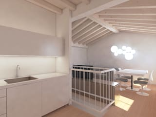 Progetto per una casa un po' al mare...un po' in montagna: Cucina in stile  di smellof.DESIGN,