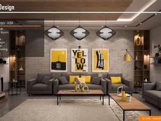 Villa Al Malqa من Line Designers حداثي