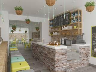 : Locales gastronómicos de estilo  de Isabel Gomez Interiors