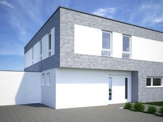 現代房屋設計點子、靈感 & 圖片 根據 Karl Kaffenberger Architektur | Einrichtung 現代風