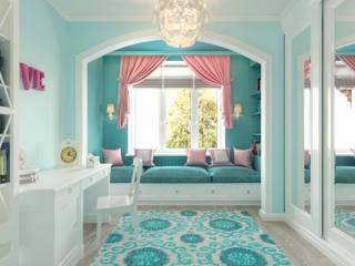 غرفة نوم تنفيذ Loft&Home