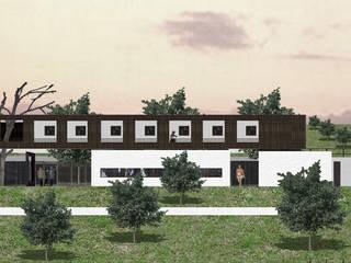 Maisons modernes par Leonardo Bachiega Arquitetos Moderne