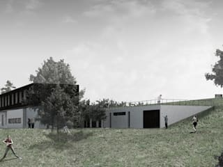 Modern houses by Leonardo Bachiega Arquitetos Modern