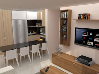 Modern kitchen by TRIBU ESTUDIO CREATIVO Modern