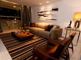 Apartamento de 170m² Salas de estar modernas por CK Arquitetura Moderno