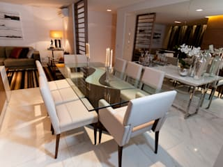 Apartamento de 170m² Salas de jantar modernas por CK Arquitetura Moderno