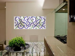 Apartamento de 70m² Salas de jantar modernas por CK Arquitetura Moderno