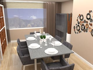 TRIBU ESTUDIO CREATIVO Modern dining room