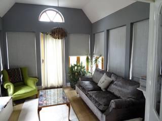 Garden Room:   by Grey Soft Furnishings