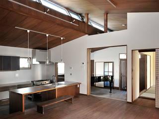 O邸 モダンデザインの ダイニング の デザイン・ラボ 一級建築士事務所 モダン