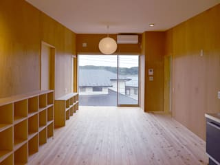 K邸 モダンな 家 の デザイン・ラボ 一級建築士事務所 モダン