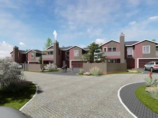 ACORNS TOWN HOUSES:   by JOHAN NAUDE ARCHITECHNOLOGY