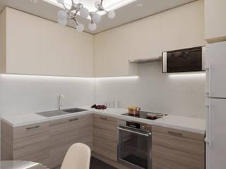 Дизайн проект в ЖК Новое Мурино: Кухни в . Автор – ИнтекСтрой