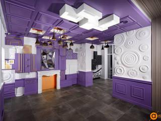 Artichok Design Commercial Spaces Purple/Violet