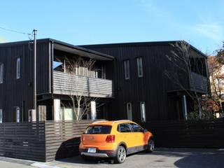 外観その1: 酒井光憲・環境建築設計工房が手掛けた家です。