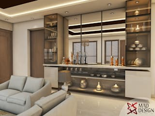 LIVING ROOM - VIEW 1 Modern living room by homify Modern
