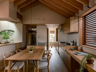 HEARTH ARCHITECTS/ハース建築設計事務所 Modern Dining Room