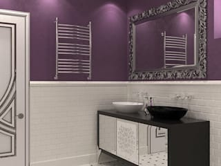 Коттедж в стиле арт деко Ванная в классическом стиле от Студия дизайна интерьера в Симферополе M-projection Классический