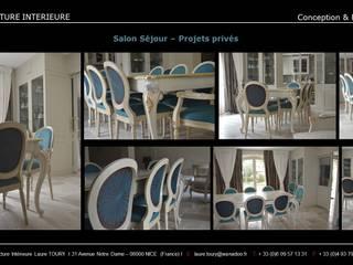 Salle à manger - Dining room Salle à manger classique par Architecture interieure Laure Toury Classique