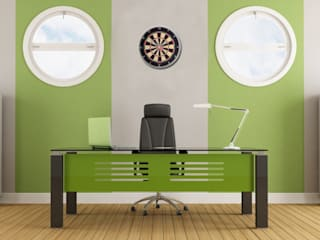 Office Room Wall Styling: modern  by Just For Clocks,Modern