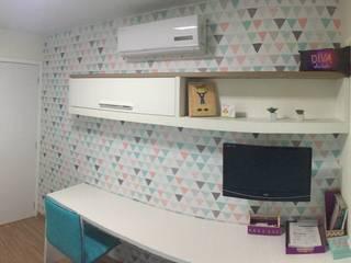 Dormitório de menina: Quartos das meninas  por Luiza Cardoso _ Arquitetura e Urbanismo,Moderno
